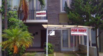 Rumah Mewah 2 Lantai Dalam Cluster Elite Lokasi Hanya Selangkah Ke Mall Amplaz | RUMAH DISEWAKAN JOGJA