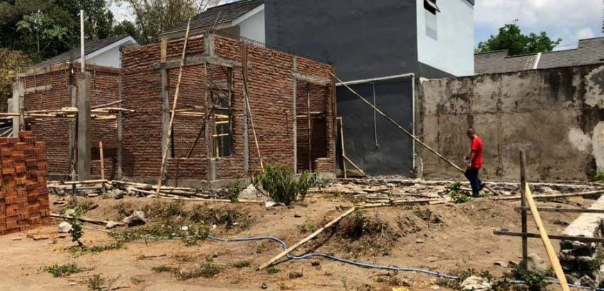 Rumah Proses Bangun Dalam Cluster Cantik Di Tanjungsari Timur Jalan Kaliurang | RUMAH DIJUAL JOGJA