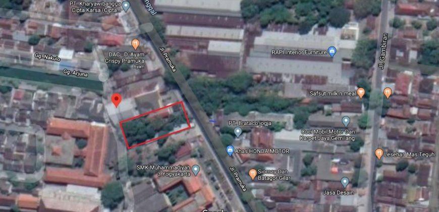 Dijual Tanah Murah beserta Bangunan 2 Lantai di Kota Yogyakarta | TANAH DIJUAL JOGJA