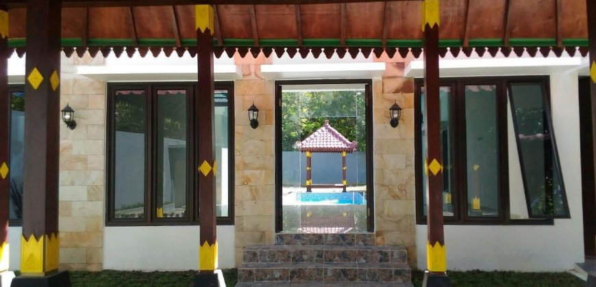 Rumah Villa Resort Cantik Eklusif Elegan Besar Luas Dijual Murah di Yogyakarta | VILLA DIJUAL JOGJA