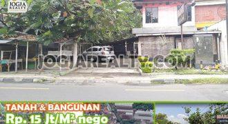 TURUN HARGA Dijual Tanah Murah beserta Bangunan 2 Lantai di Kota Jogja | BANGUNAN & TANAH DIJUAL DI JOGJA