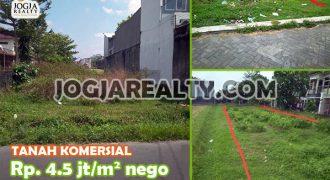 Dijual Tanah Letter T Di Barat Jalan Magelang Yogyakarta   TANAH DIJUAL DI JOGJA