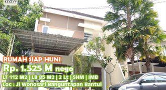 Rumah Cantik Siap Huni Dalam Perumahan Elite Di Jalan Wonosari Dekat Ringroad Banguntapan Yogyakarta | RUMAH DIJUAL DI JOGJA