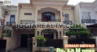 Rumah Mewah 2 Lantai Fully Furnished Dalam Kawasan Perumahan Elite Lokasi Dekat Mirota Kampus Godean | RUMAH DIJUAL DI JOGJA