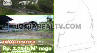 Tanah Lokasi Strategis Pinggir Jalan Utama Jogja – Wates Menuju Bandara YIA | TANAH DIJUAL DI JOGJA