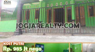 Dijual Rumah Kos Putri Dekat Kampus UAD Di Jogja Kota   RUMAH KOST DIJUAL DI JOGJA