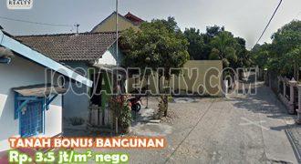 Dijual Tanah Dan Bangunan Di Kasihan Bantul Yogyakarta | TANAH DAN BANGUNAN DIJUAL DI JOGJA