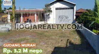 Gudang Kuat Kokoh Murah dijual di Dongkelan jl Bantul Yogyakarta | GUDANG DIJUAL DI JOGJA