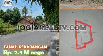 Tanah Pekarangan Di Lokasi Strategis Taman Martani Kalasan Sleman | TANAH DIJUAL DI JOGJA