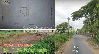Tanah dijual di bantul dekat ISI Jogja