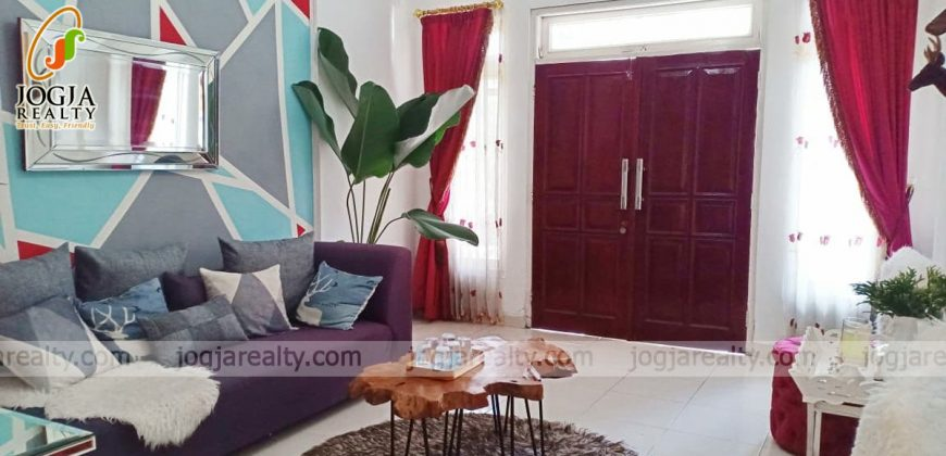 Rumah full furnished dijual banguntapan