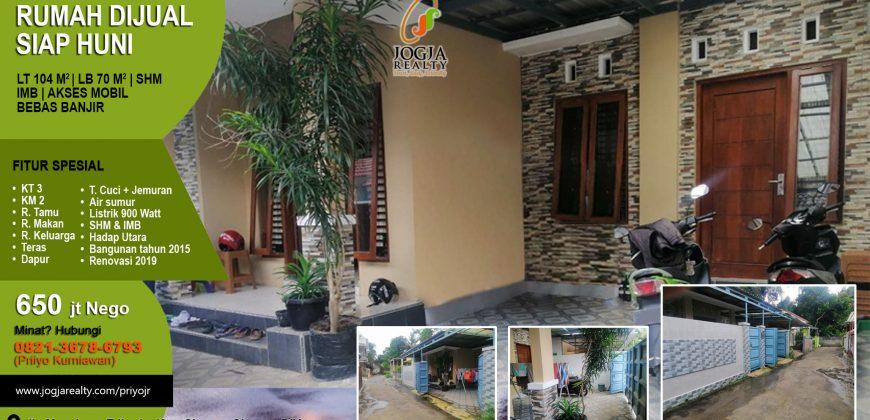 Rumah Dijual Di Kecamatan Sleman Jogja