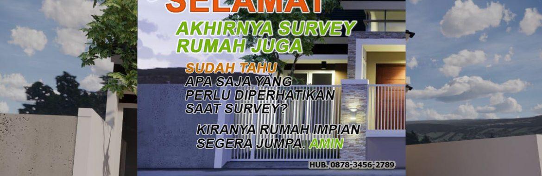 Tips Survey Rumah Sebelum Membeli