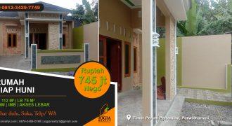 rumah dijual area Purwomartani Kalasan