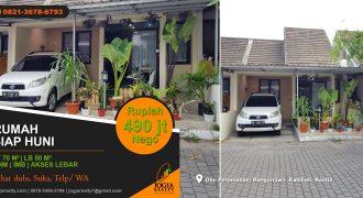 Rumah full furnished dijual di Bangunjiwo