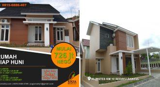 Rumah dijual area Jalan Wates Jogja