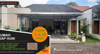 Rumah dijual area Banyuraden Gamping