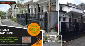 Rumah dijual area Jetis Bantul