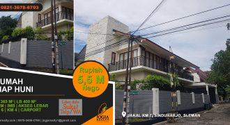 Rumah dijual di Sinduharjo Yogyakarta