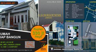 Rumah murah daerah Jambidan Banguntapan