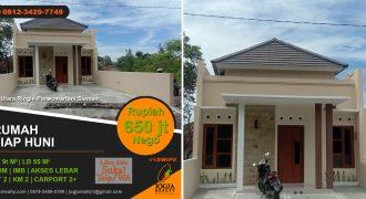Rumah dijual sekitar Purwomartani Kalasan