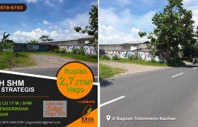 Tanah dijual jalan Bugisan Yogyakarta