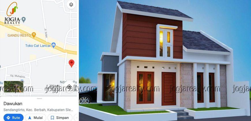 Rumah siap bangun dijual Sendangtirto Berbah