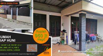 Rumah dijual jalan HOS Cokroaminoto Yogyakarta