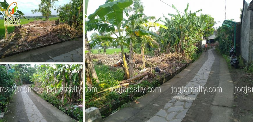 Tanah daerah Kota Bantul dijual