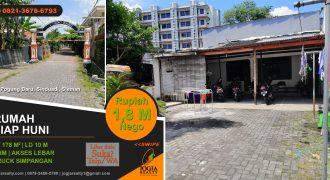 Tanah dijual pogung baru Yogyakarta