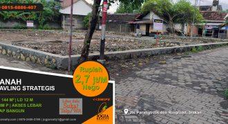 Tanah kavling dijual Salakan Yogyakarta