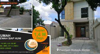 Rumah 2 lantai dijual Sinduadi