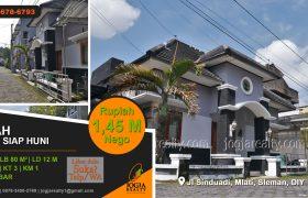 Rumah fully furnished dijual Sinduadi Sleman