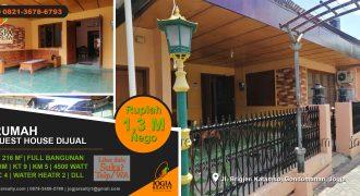 Guest house dijual area wisata Jogja