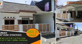 Rumah siap huni dijual Banyuraden Yogyakarta