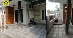 Rumah baru dalam perumahan Bangunjiwo dijual