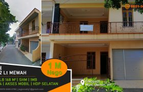 Rumah 2 lantai siap huni dijual Sinduadi