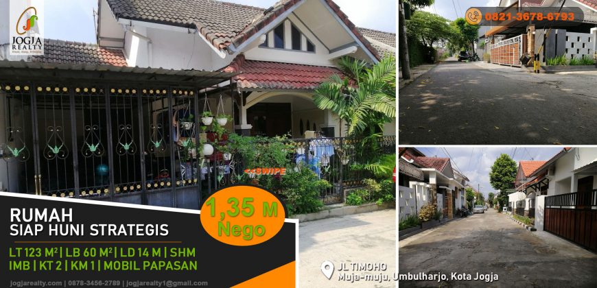 Rumah dijual dekat kampus UIN Yogyakarta
