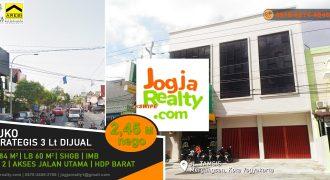 Ruko dijual Jalan Tamsis kota Yogyakarta