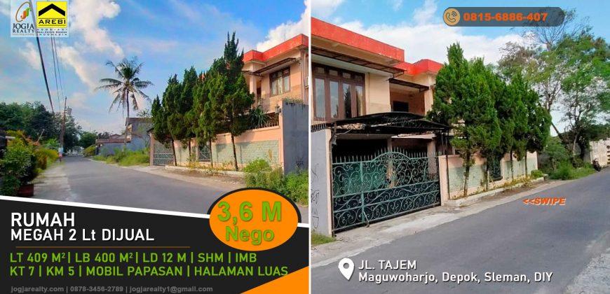 rumah 2 lantai dijual di Tajem
