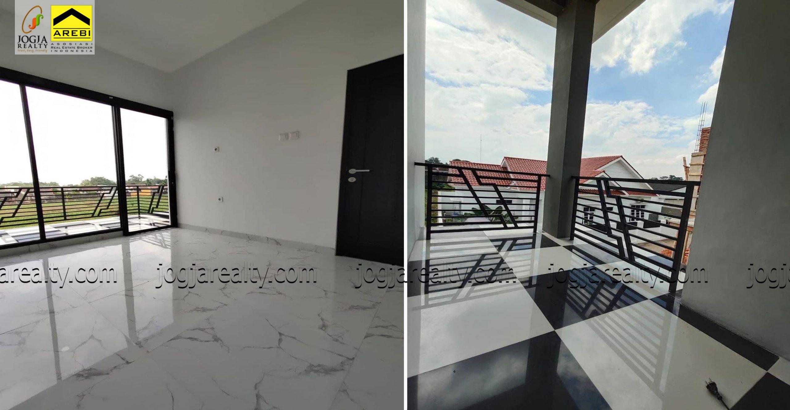 Rumah minimalis model scandinavian dijual Jogja
