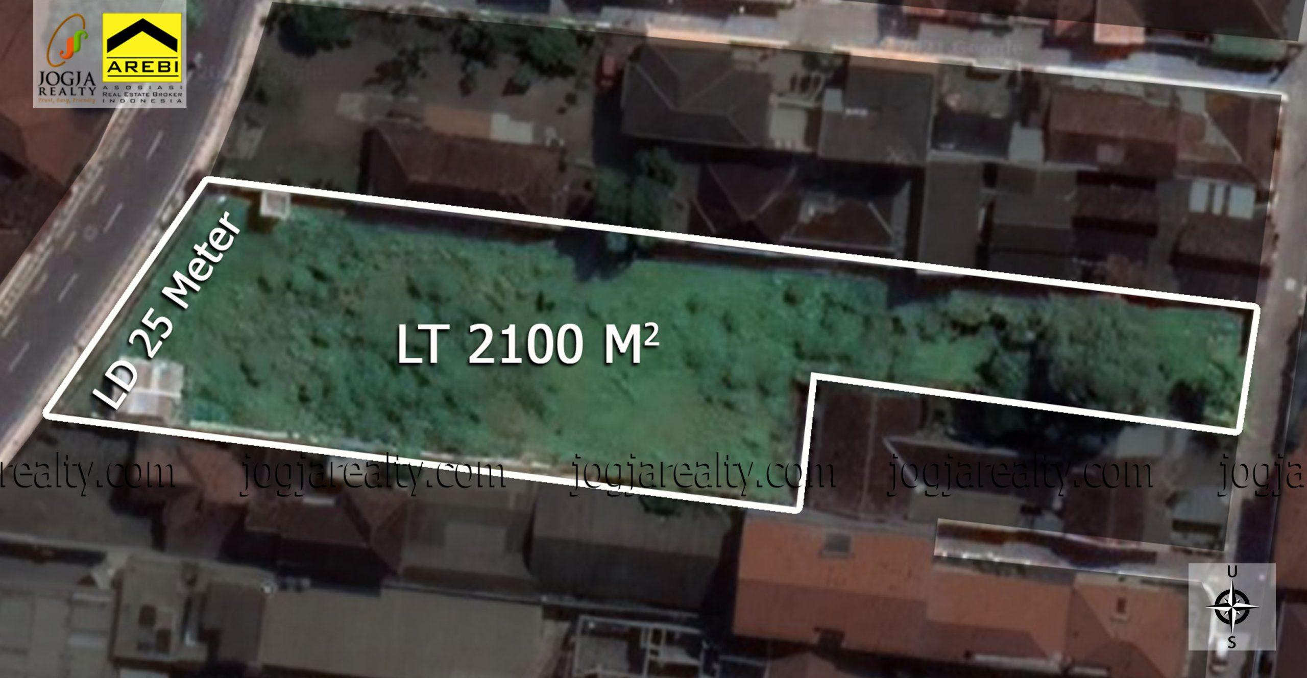 tanah untuk hotel dijual Jogja kota